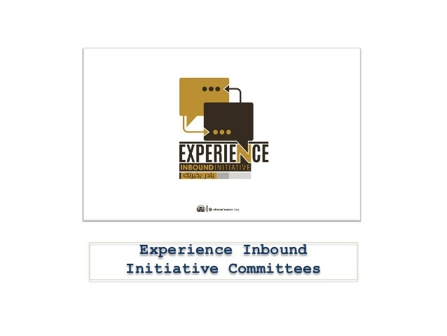 Experience Inbound Initiative Committees