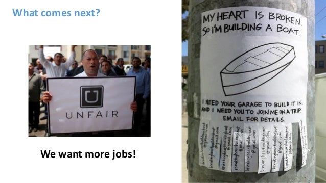 What comes next? We want more jobs!