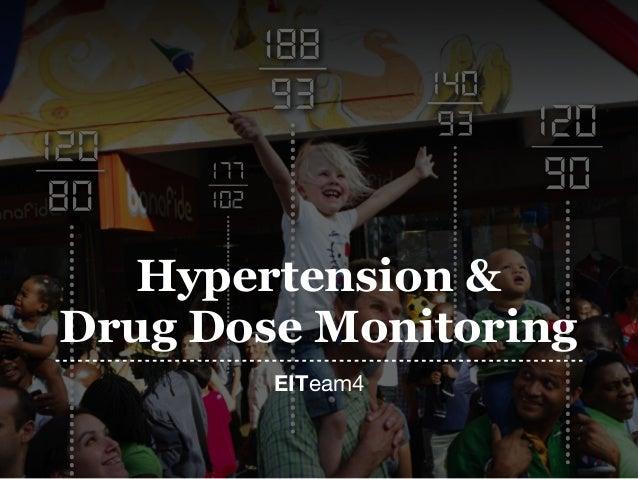 EITeam4 Hypertension & Drug Dose Monitoring