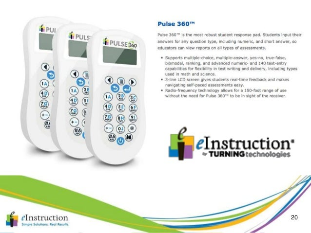 Einstruction by turning technologies insight 360 2014.