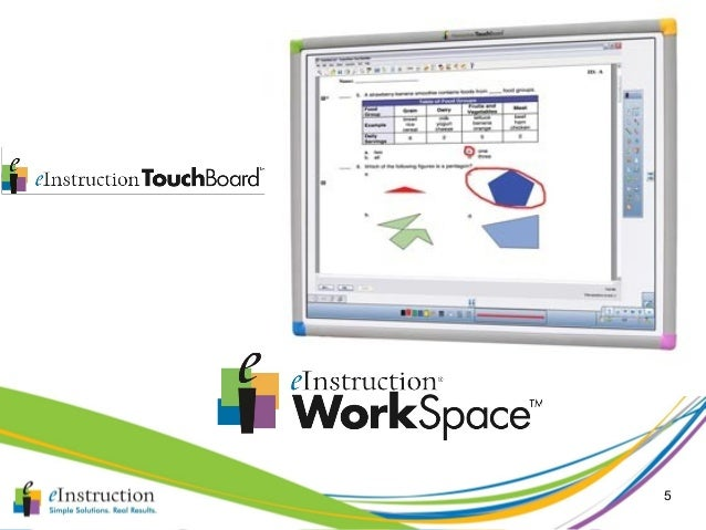 workspace einstruction