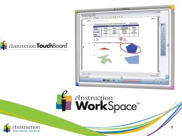workspace einstruction