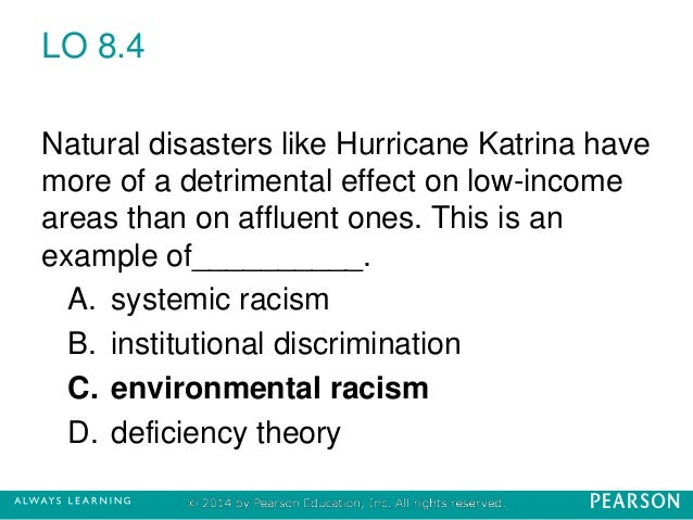 racism hurricane katrina essay Hurricane katrina was the deadliest and most destructive atlantic hurricane[-0] of the 2005 atlan[-1]- tic oil platforms[-2] and caused the closure of nine refine- ries the forestry industry in mississippi was also affected, as million acres of forest lands were destroyed.