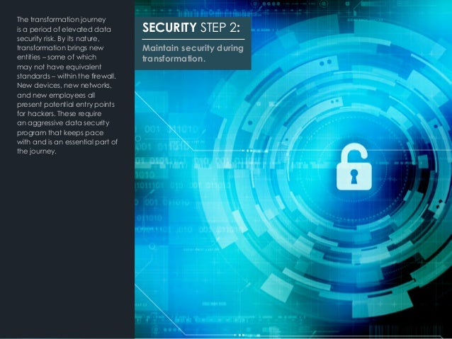 The transformation journey is a period of elevated data security risk. By its nature, transformation brings new entities –...