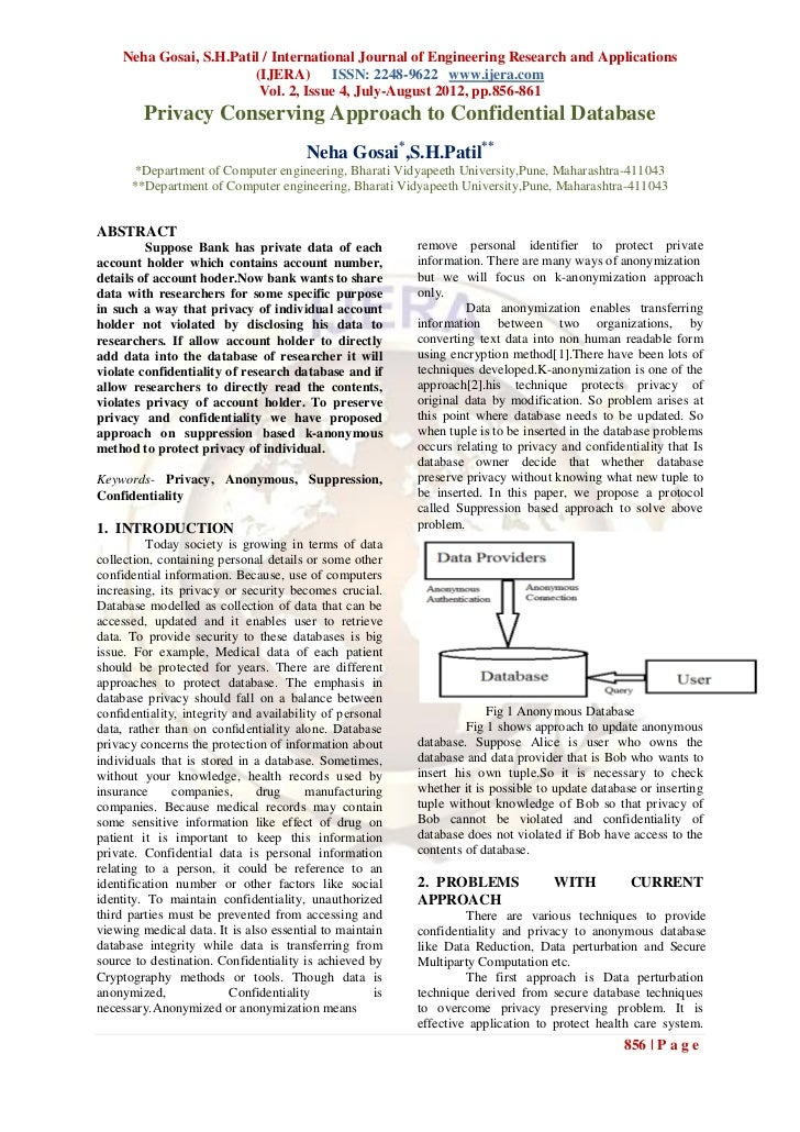 Neha Gosai, S.H.Patil / International Journal of Engineering Research and Applications                        (IJERA) ISSN...