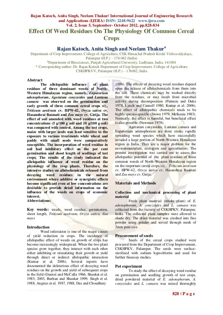 Rajan Katoch, Anita Singh, Neelam Thakur/ International Journal of Engineering Research                and Applications (I...