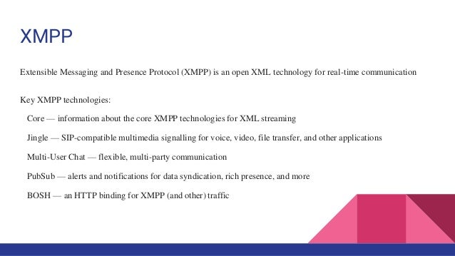 Extensible Messaging And Presence Protocol : Ejabberd session