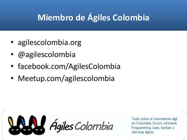 Miembro de Ágiles Colombia