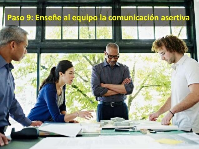 Trabajo en equipo • El todo es más que la suma de las partes