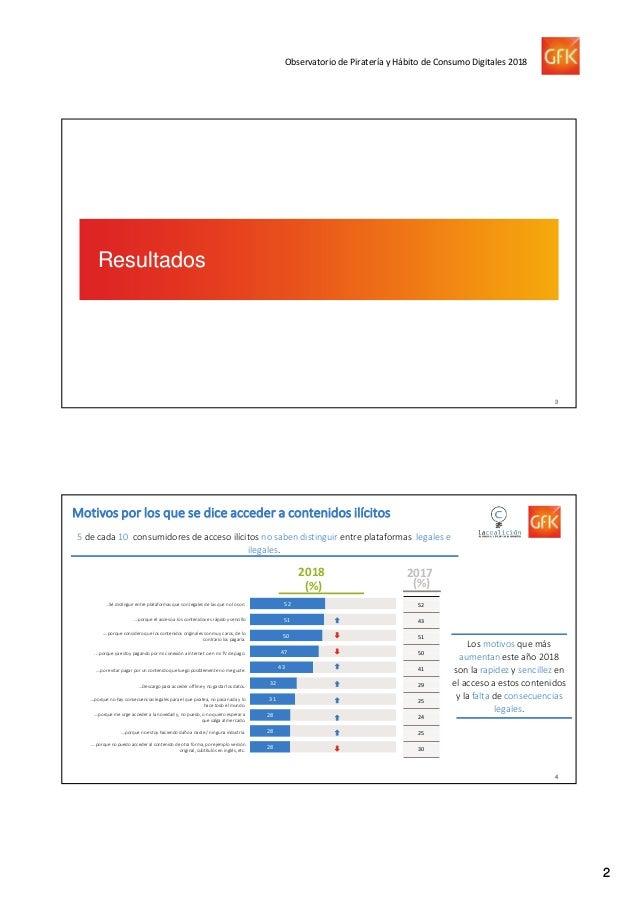 Informe- Observatorio de la Piratería y hábitos de consumo de contenidos digitales Slide 3