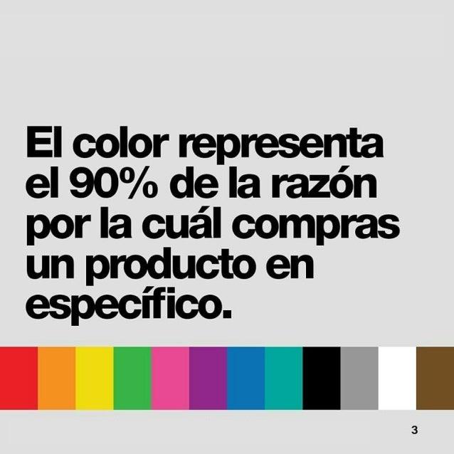 Psicologia del color Slide 3