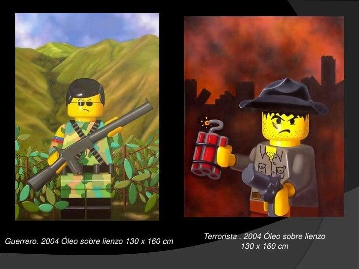 La Toma. 2006 Oleo sobre lienzo   Las flores del mal 4. 2007 Óleo sobre          210 x 160                        lienzo. ...