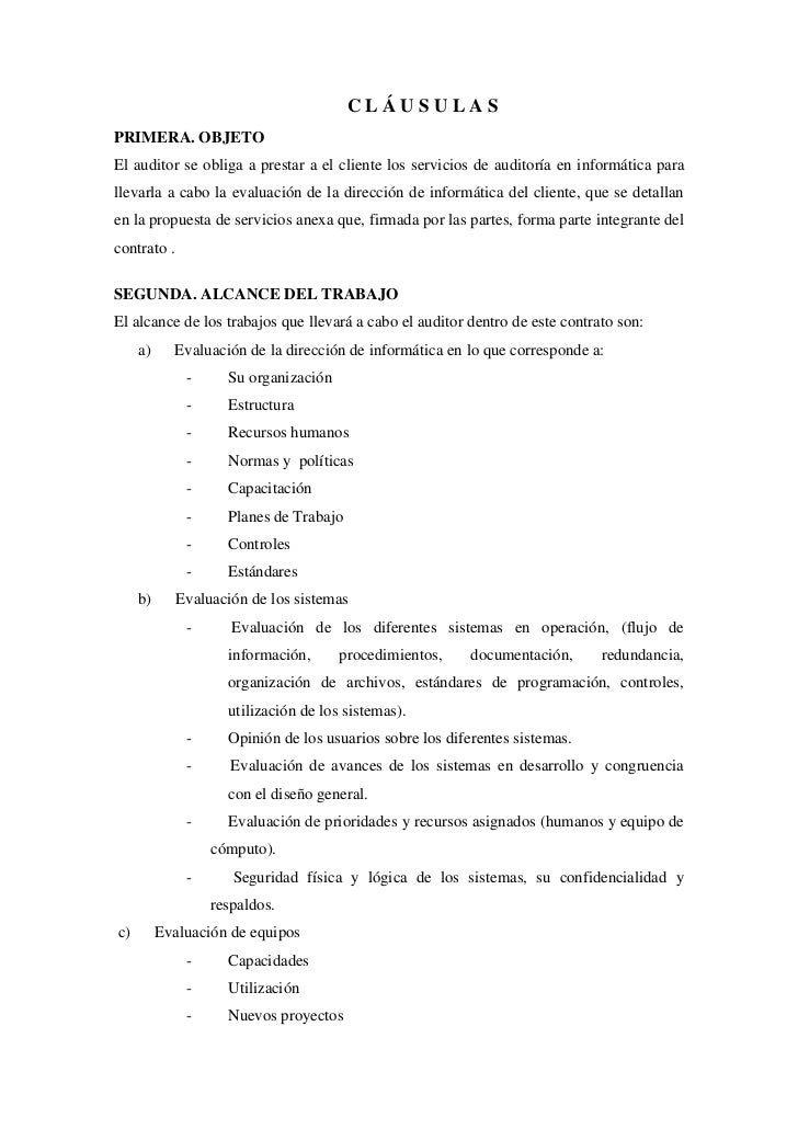 Ejemplo De Contrato De Confidencialidad Ejemplo De