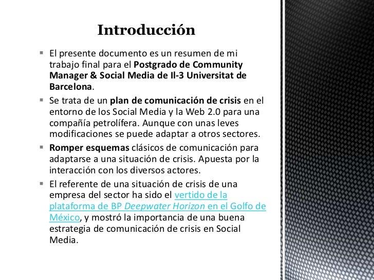 Ejemplo de plan de comunicación de crisis 2.0