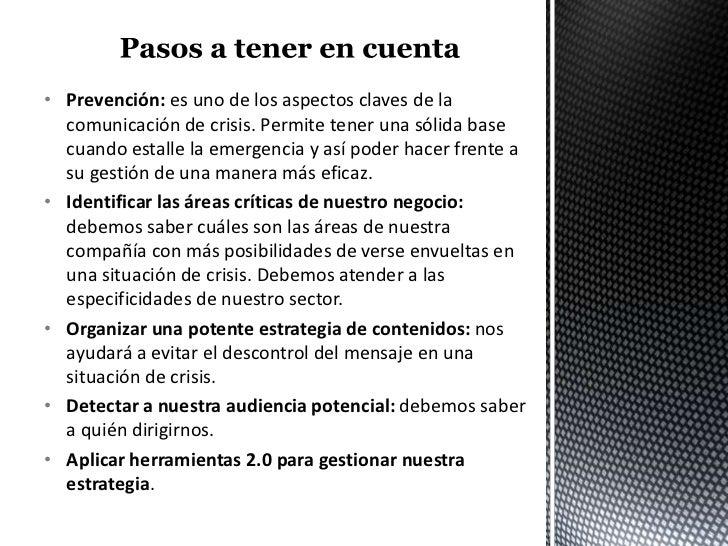 Ejemplo de plan de comunicación de crisis 2.0 Slide 3