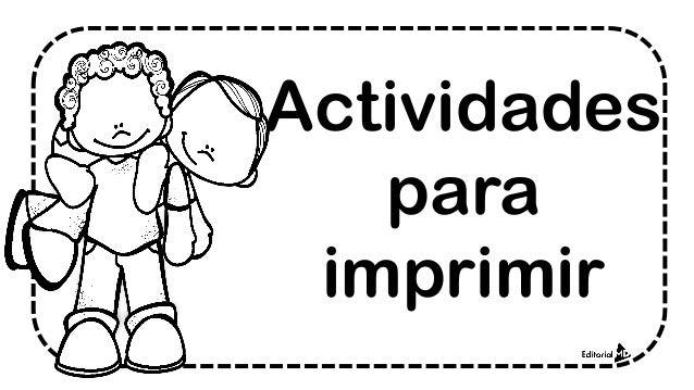 Ejemplo De Preescolar Material Didactico