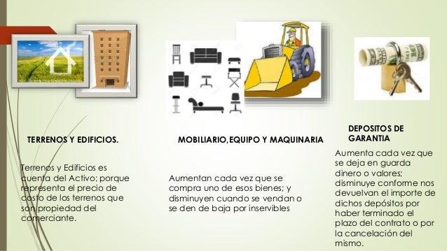 Ejemplo De Principales Cuentas De Activo Teor A