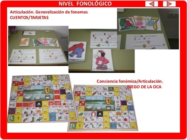 NIVEL SEMÁNTICO Vocabulario/razonamiento verbal/descripción Tarjetas para imprimir o PDI Conceptualización/razonamiento ve...