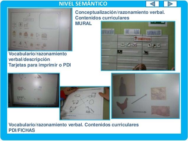 Vocabulario / Lectura Vídeo PC/PDI NIVEL SEMÁNTICO VOCABULARIO/LECTURA (C.MEDIO) Vocabulario / Registro de evaluación Fich...