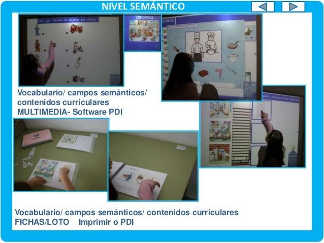 NIVEL SEMÁNTICO VOCABULARIO/LECTURA (C.MEDIO) Vocabulario / Campos semánticos / Lectoescritura. Recurso online / Tarjetas ...
