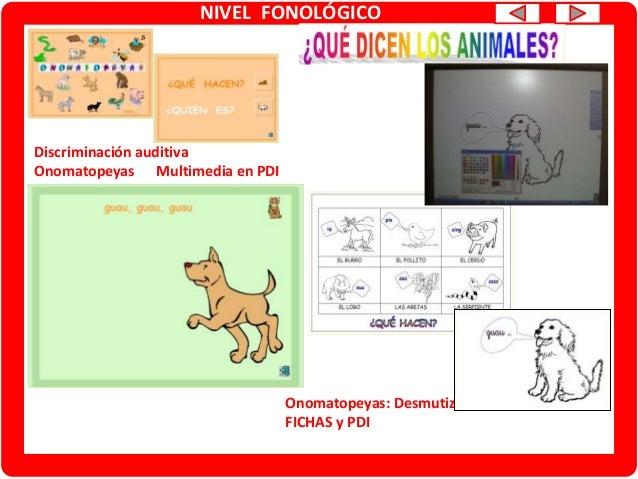 NIVEL FONOLÓGICO Conciencia fonológica Rimas. Multimedia en PDI Conciencia fonológica Rimas. TARJETAS/LOTO