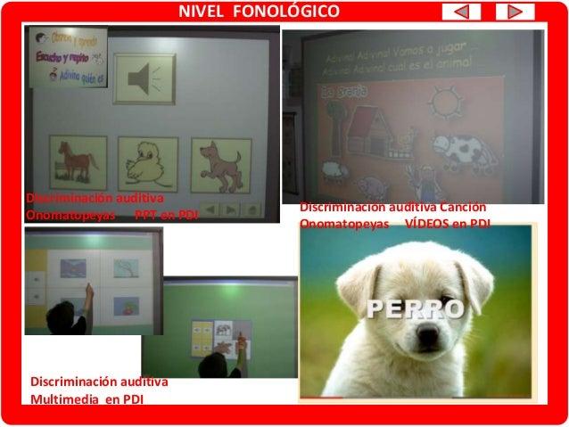 NIVEL FONOLÓGICO Conciencia fonológica Empieza por … Multimedia en PDI BUSCA EL DIBUJO Conciencia fonológica Vocales Multi...