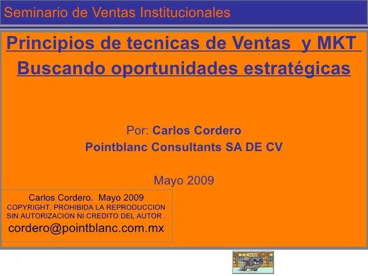 Ejemplo de seminario de Ventas