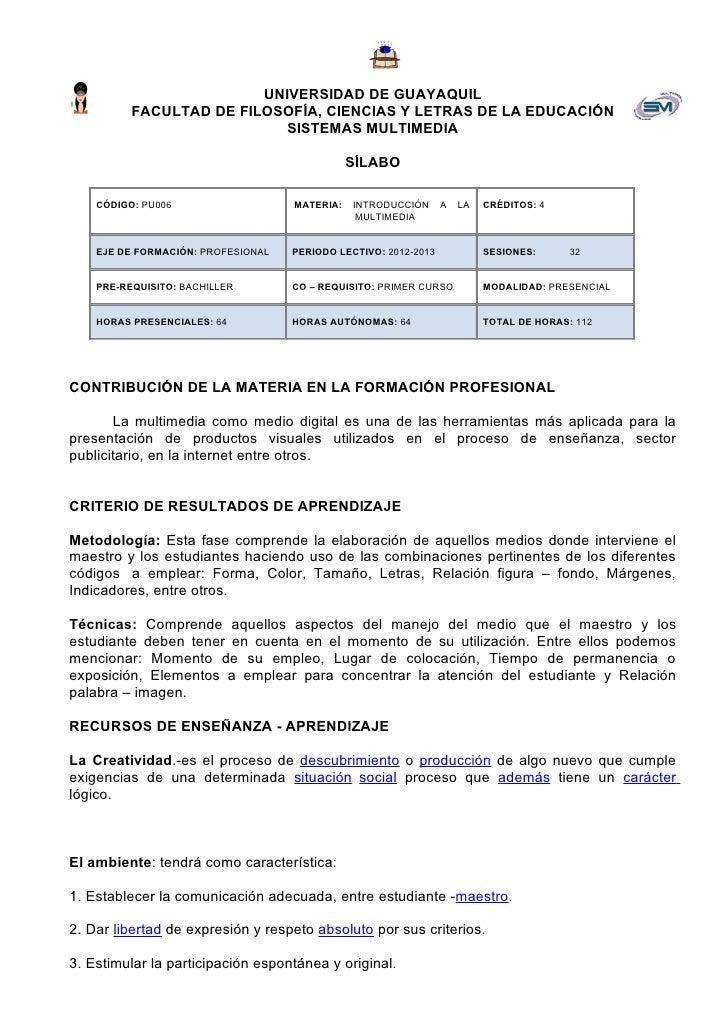 UNIVERSIDAD DE GUAYAQUIL          FACULTAD DE FILOSOFÍA, CIENCIAS Y LETRAS DE LA EDUCACIÓN                           SISTE...