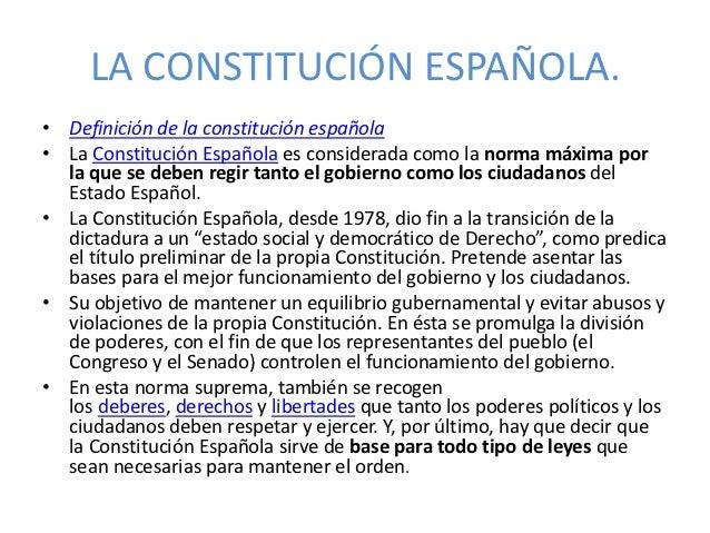 La Constitución Slide 2