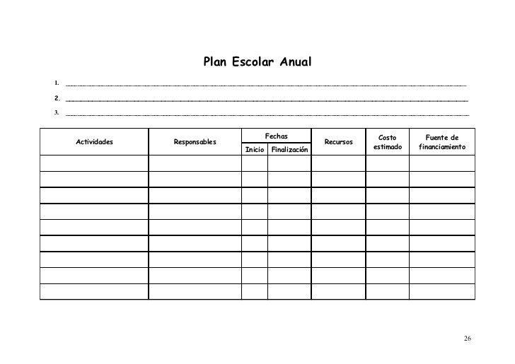 Plan Escolar Anual1.   ___________________________________________________________________________________________________...