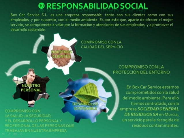Ejemplo Responsabilidad Social