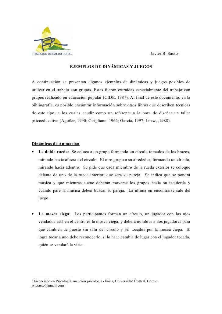 Javier B. Sasso                                                                                            1              ...