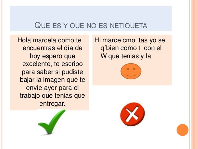 Ejemplos de netiqueta for Que dia lunar es hoy