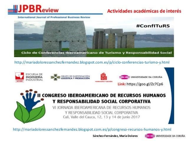 http://mariadoloressanchezfernandez.blogspot.com.es/p/ciclo-conferencias-turismo-y.html Sánchez-Fernández, María Dolores A...