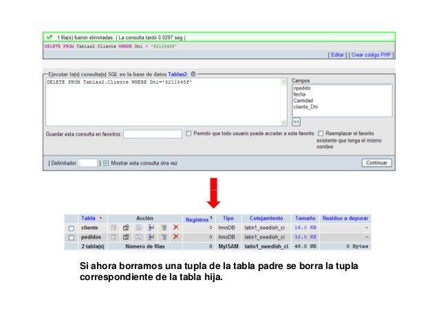 DROP SCHEMA IF EXISTS Tablas3;CREATE SCHEMA Tablas3;USE Tablas3;create table Cliente(             Dni VARCHAR(10),        ...