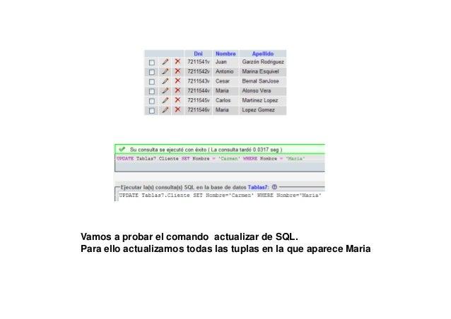 EJEMPLOSPRÁCTICOSSQLCONSULTASBÁSICASCONSELECTCONSULTAS BÁSICAS CON SELECT