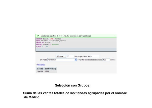 DROP SCHEMA IF EXISTS JOIN1;CREATE SCHEMA JOIN1;USE JOIN1;create table Información_Ventas(              Tienda VARCHAR(10)...