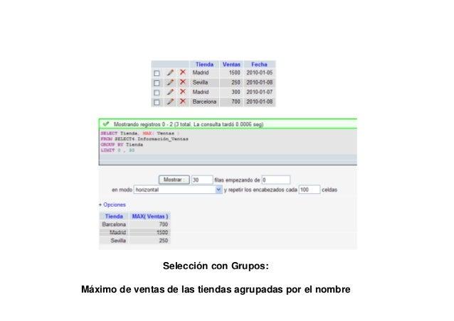 TABLA:Zona_VentasTABLA: Informacion_ventas