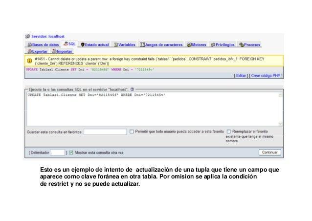 DROP SCHEMA IF EXISTS Tablas2;CREATE SCHEMA Tablas2;USE Tablas2;create table Cliente(             Dni VARCHAR(10),        ...