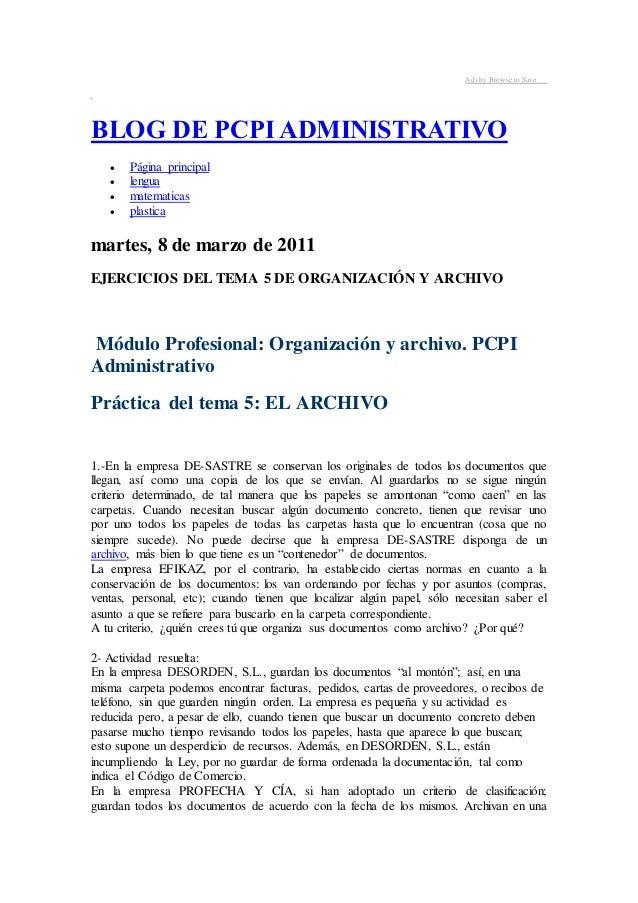 Ads by Browse to Save  BLOG DE PCPI ADMINISTRATIVO   Página principal   lengua   matematicas   plastica  martes, 8 de ...