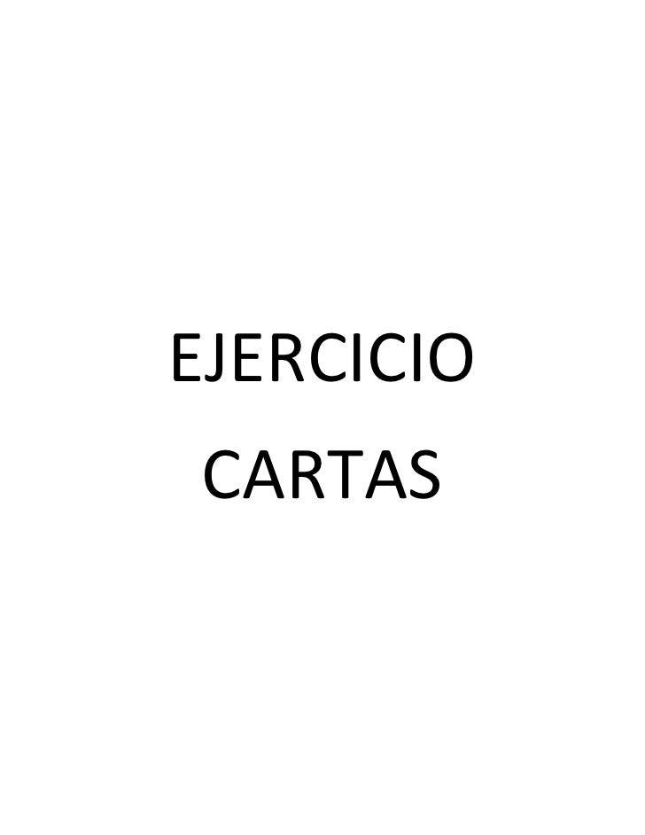 EJERCICIOCARTAS