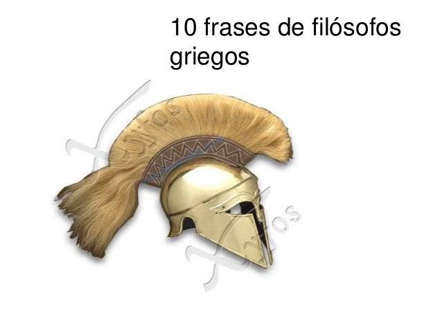 10 Frases De Filósofos Griegos