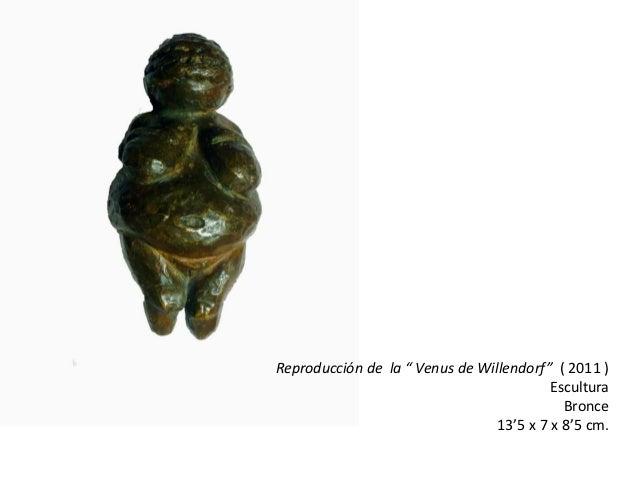 """Reproducción de la """" Venus de Willendorf"""" ( 2011 )                                          Escultura                     ..."""