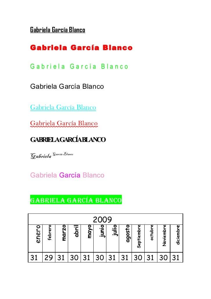 Gabriela García BlancoGabriela García BlancoGabriela García BlancoGabriela García BlancoGabriela García BlancoGabriela Gar...