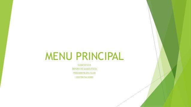 MENU PRINCIPAL GUASTATOYA DEPORTIVO GUASTATOYA PRECIDENTE DEL CLUB CONTRATACIONES