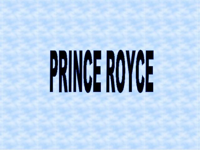 BIOGRAFÍA Royce nació el 11 de mayo de 1989, en el Bronx, un distrito de la ciudad de Nueva York. Sus padres eran de orige...