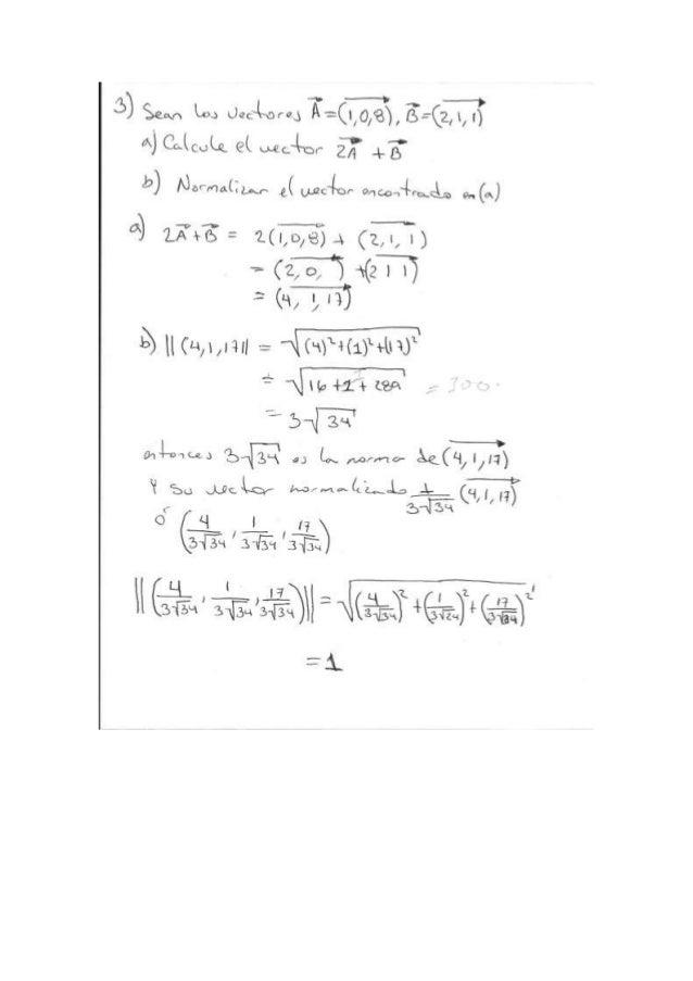 Ejercicio algebra final