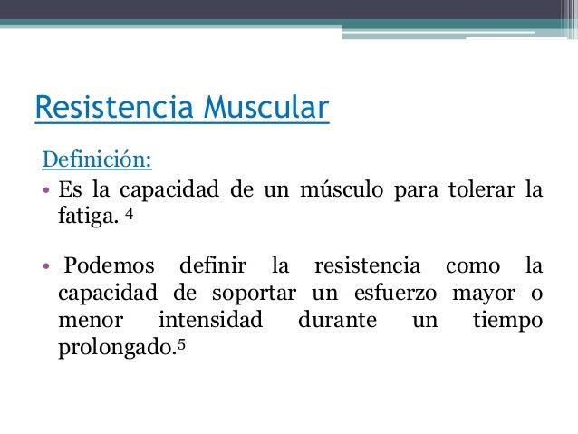 Ejercicio de fuerza potencia y resistencia for Fuera definicion