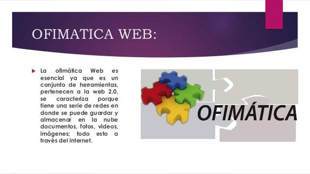 Ofimática Web Slide 2