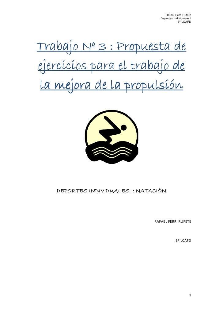 Rafael Ferri Rufete                                    Deportes Individuales I                                            ...